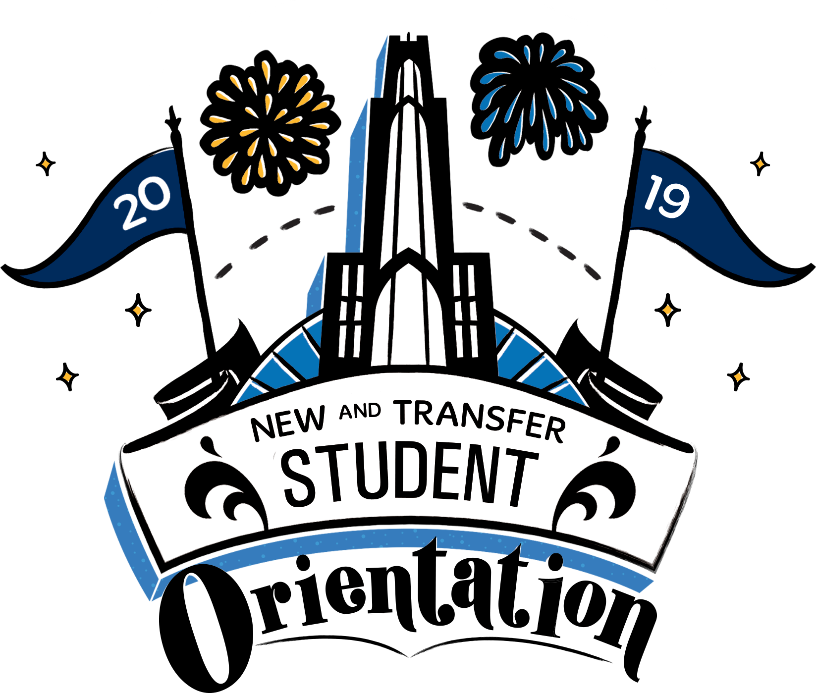new year wishes new and transfer student orientation