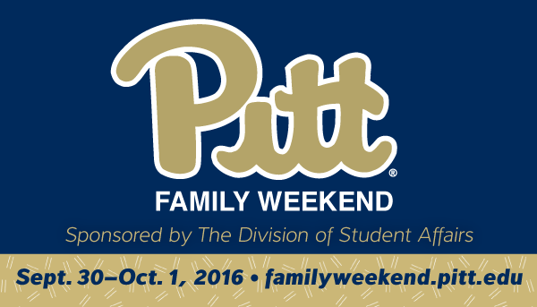 Family Weekend Save the Date