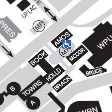 Amos Hall on Map