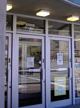 The University Book Center entrances