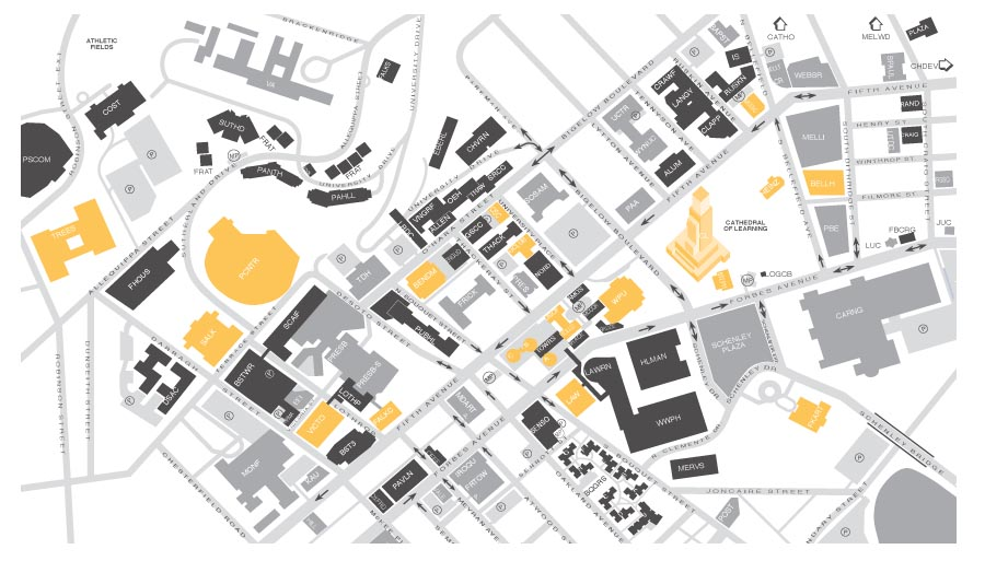 Oakland Campus Map