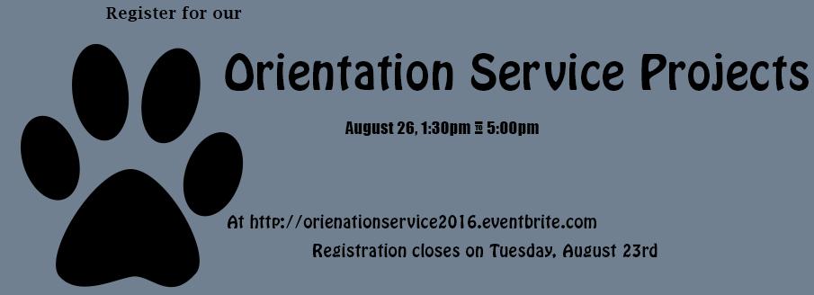 Orientation-service-project
