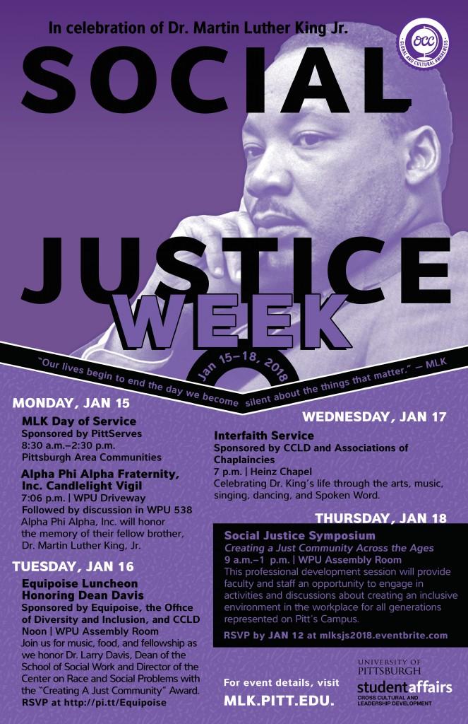 MLK Social Justice Week