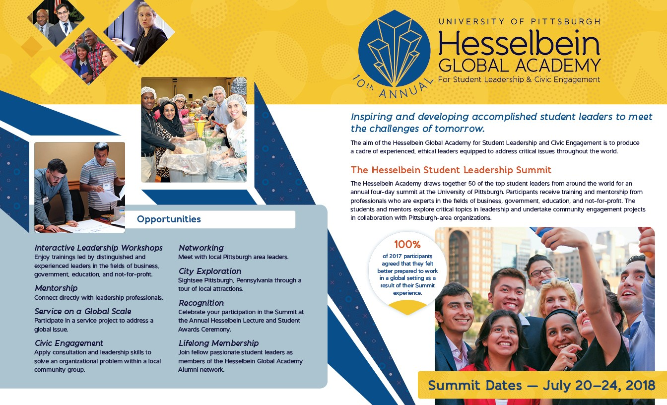Hesselbein Brochure top
