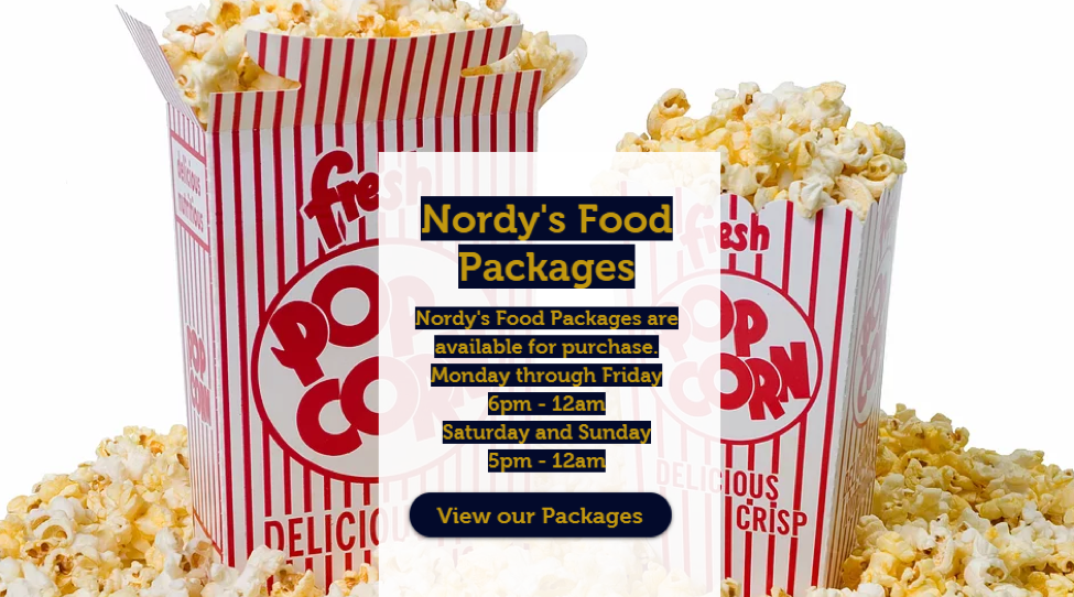 View Our Food Packages