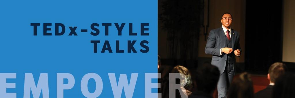 TEDx-style talks