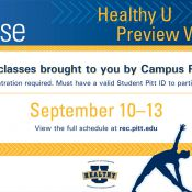 Healthy U Preview Week