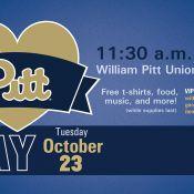 I Love Pitt Day October 23