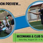 Recomania and Club Sports Fair