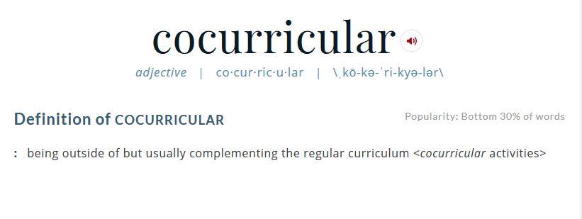 co-curricular