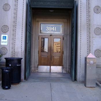 Allen Hall Entrance