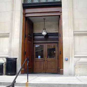 Alumni Hall Entrance
