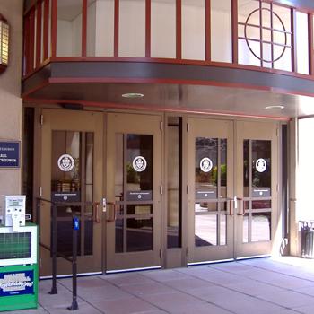 Thomas E. Starzl Biomedical Science Towers entrance