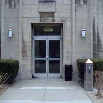 Clapp Hall entrance