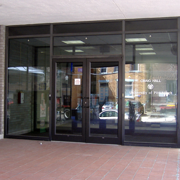 Craig Hall entrance