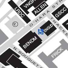 Engineering Auditorium on the map