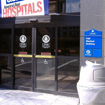 Falk Medical Building entrance