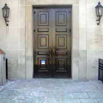 Frick Fine Arts Building entrance