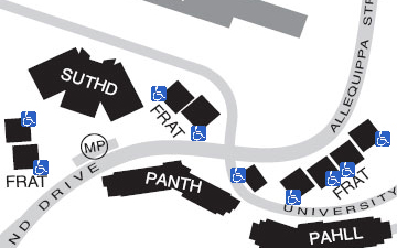 Fraternity Housing Complex on the map