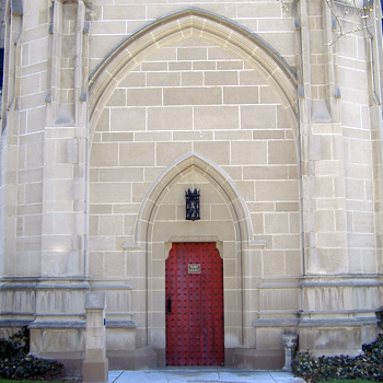 Heinz Memorial Chapel entrance