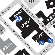 Langley Hall on the map