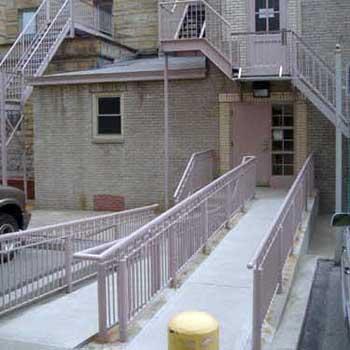 Music Building entrance