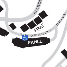 Pennsylvania Hall on the map