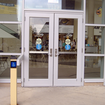Peterson Event Center entrance