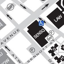 Sennott Square on the map