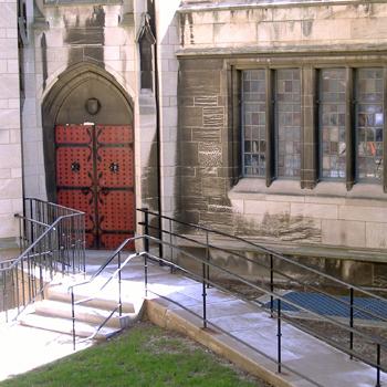 Stephen Foster Memorial entrance