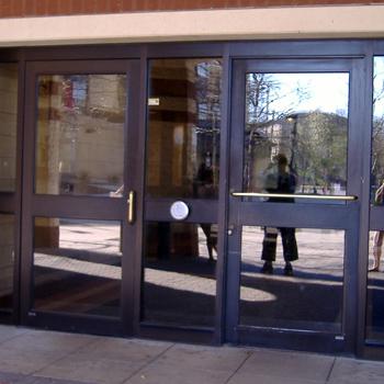 Sutherland Hall entrance