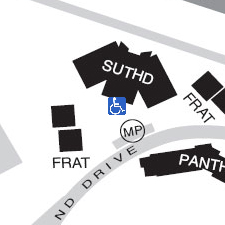 Sutherland Hall on the map