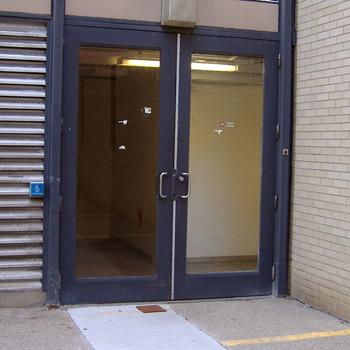 Van de Graaff Building entrance