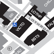 Victoria Building on the map