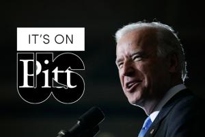 Vice President Biden Visits Pitt