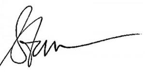 Steve Sign for Letter2