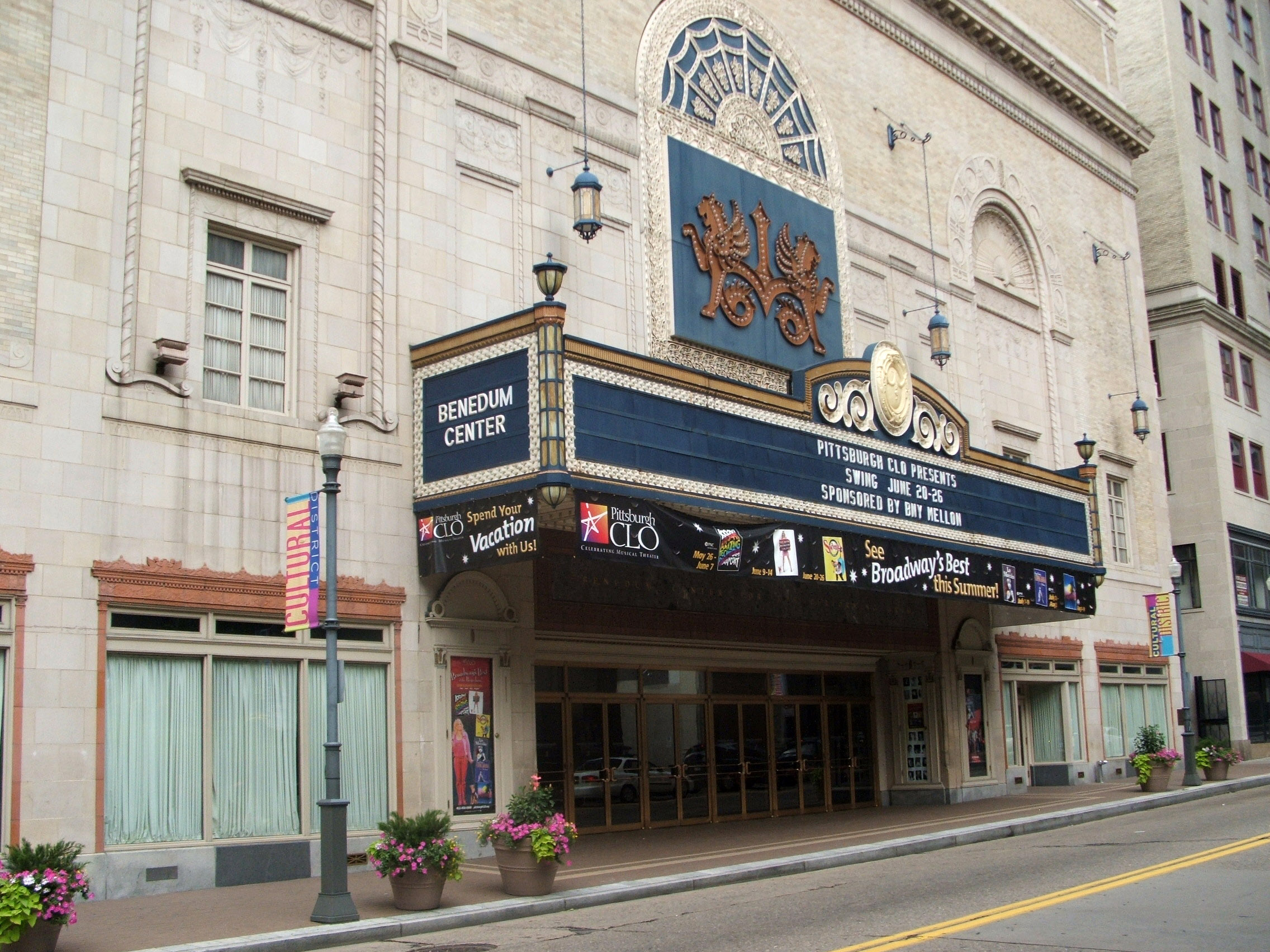 benedum-center-in-pittsburgh-pennsylvania