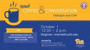 Coffee and Conversations flyer