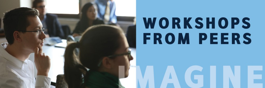 Workshops from peers