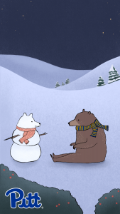 Bear and snow bear